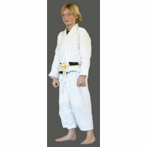Brazilian Jiu Jitsu Uniform for kids Premium Blank