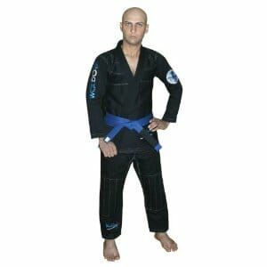 Brazilian jiu jitsu Kimono Pearl Weave Gi competition Uniform woldorf usa black with ripstop pant A2