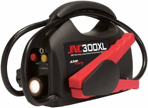 Jump-N-Carry 900 Peak Amp Ultraportable 12-Volt Jump Starter with Light