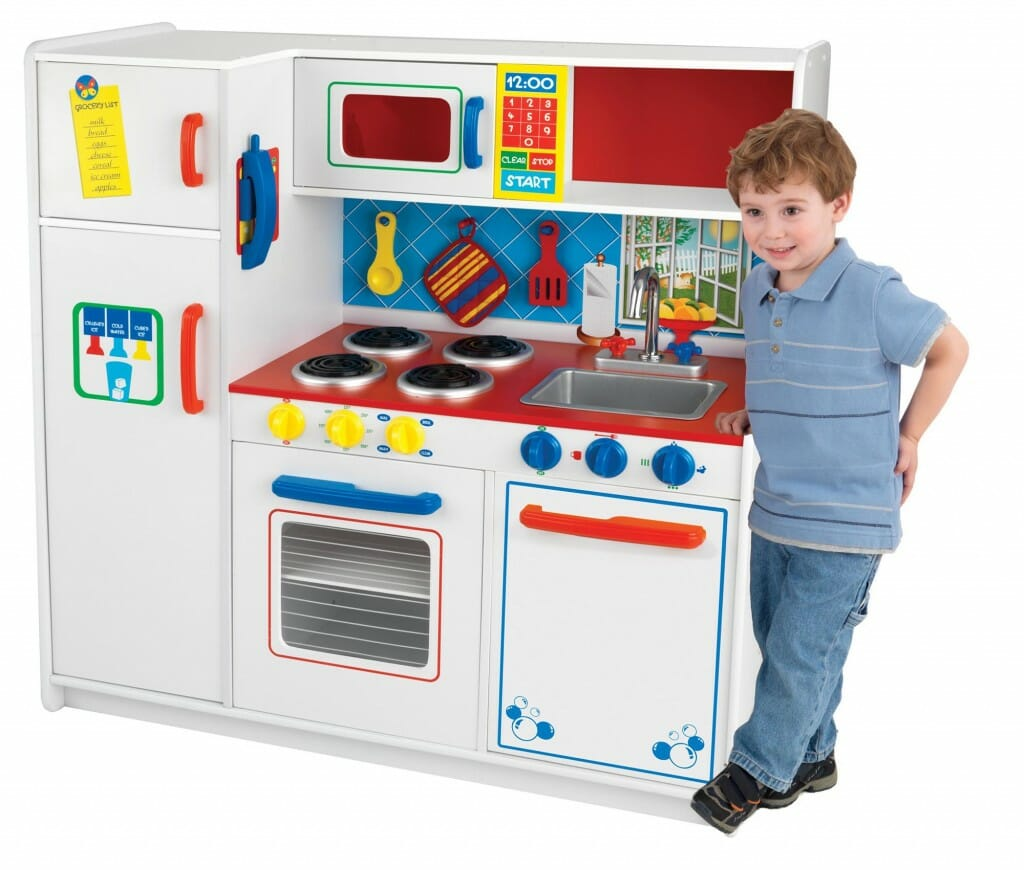 kidkraft deluxe let s cook kitchen
