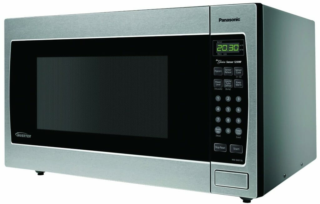 Panasonic Genius 1250 Watt Microwave with Inverter Technology, Stainless Steel