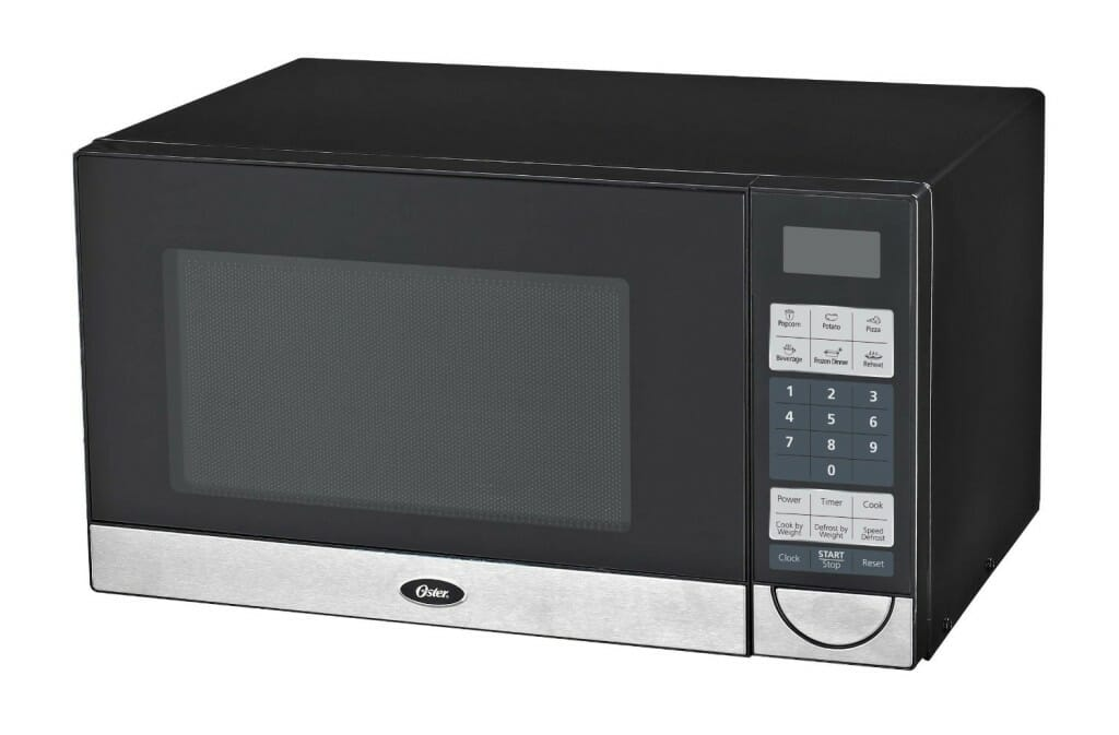 Oster OGB5902 0.9-Cubic Feet Microwave Oven, Black