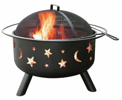 Landmann 28345 Big Sky Stars and Moons Fire pit
