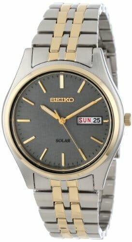 Seiko SNE042 Two-Tone Solar