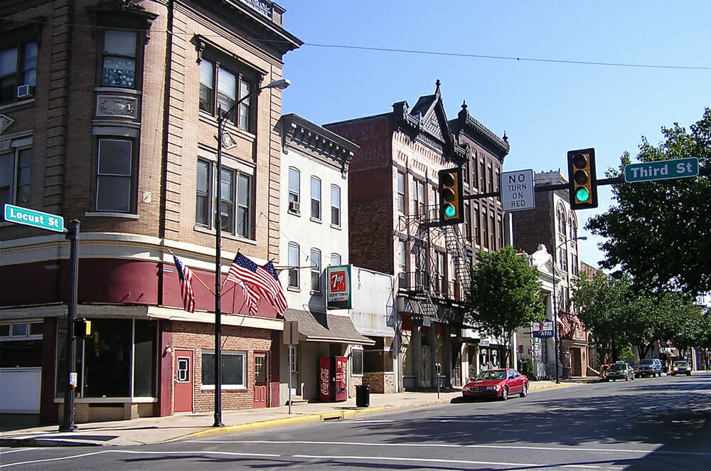 Columbia Pennsylvania Best Small Town Downtown