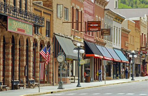 50 best small town downtowns in america kfmu solar Best villages in america