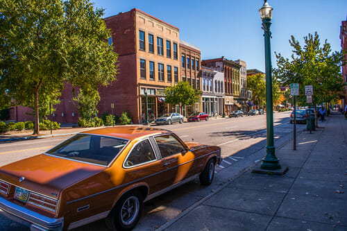 Marietta Ohio Best Small Town Downtown