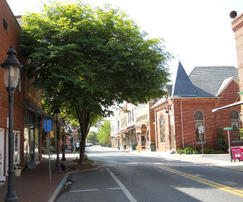 Berlin Maryland Best Small Town Downtown