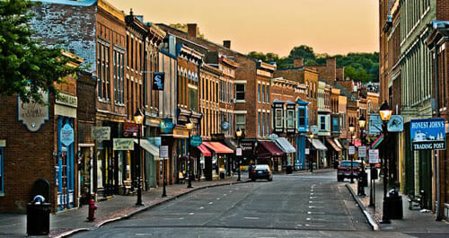 Galena Illinois Best Small Town Downtown