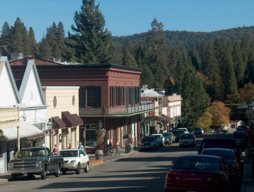 Nevada City California Best Small Town Downtown