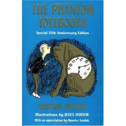an examination of the phantom tollbooth by norton juster as a childrens book The phantom tollbooth is an extremely good book for ages seven to eleven the perfect read for fantasy lovers and also those who love to get in a jumble with complicated words by gabriel, age 9.