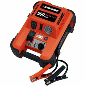 Black & Decker 500-Amp Jump Starter with Built-in Tire Inflator