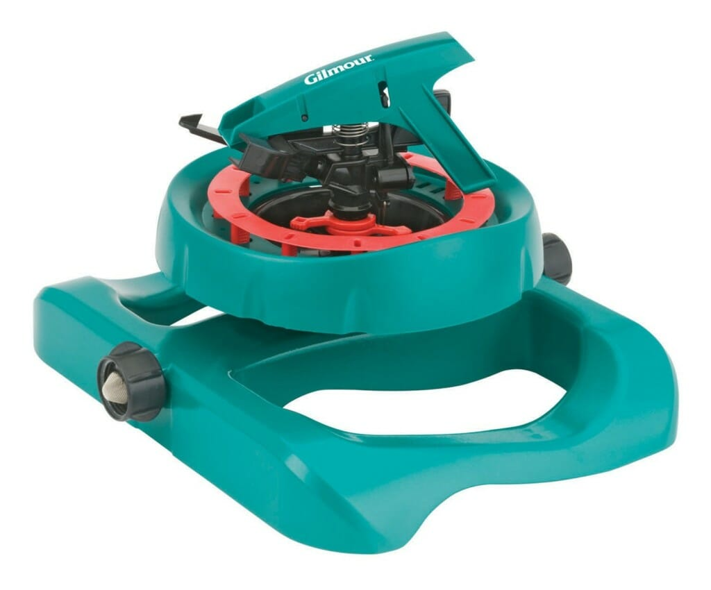 Gilmour 196SPB Pattern Master Impulse Sprinkler on Polymer Sled Base