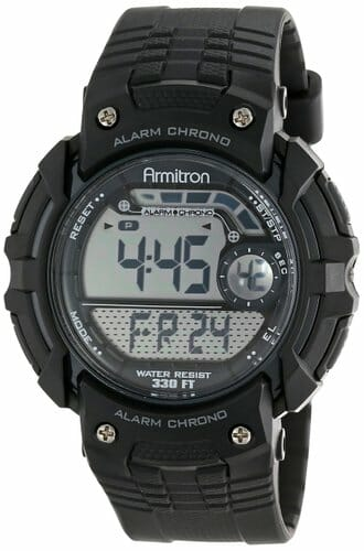 Armitron Chronograph Black Digital Sport Watch