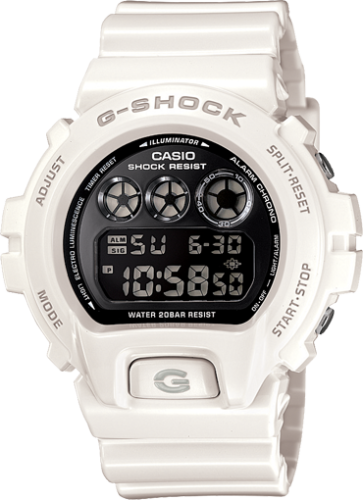 Casio G-Shock Mirror-Metallic White