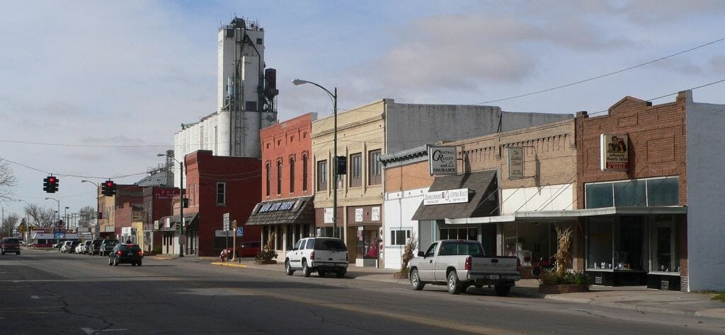 Nebraska City Nebraska Best Small Town Downtown