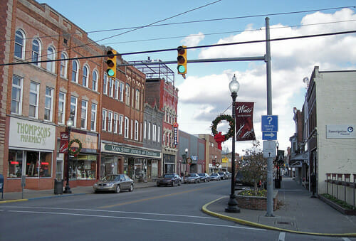 Buckhannon West Virginia Best Small Town Downtown