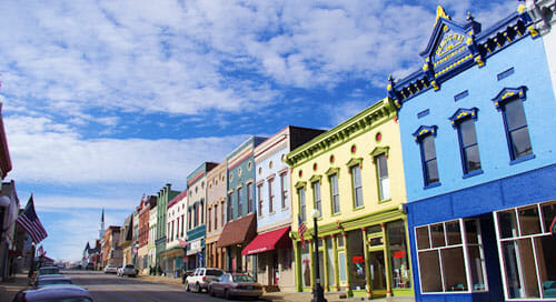 Harrodsburg Kentucky Best Small Town Downtown