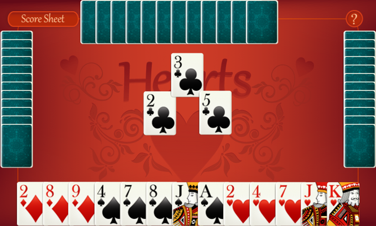 hearts-card-and-board-games