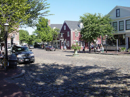 Nantucket Massachusetts Best Small Town Downtown