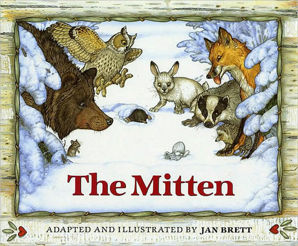The-Mitten-childrens-books