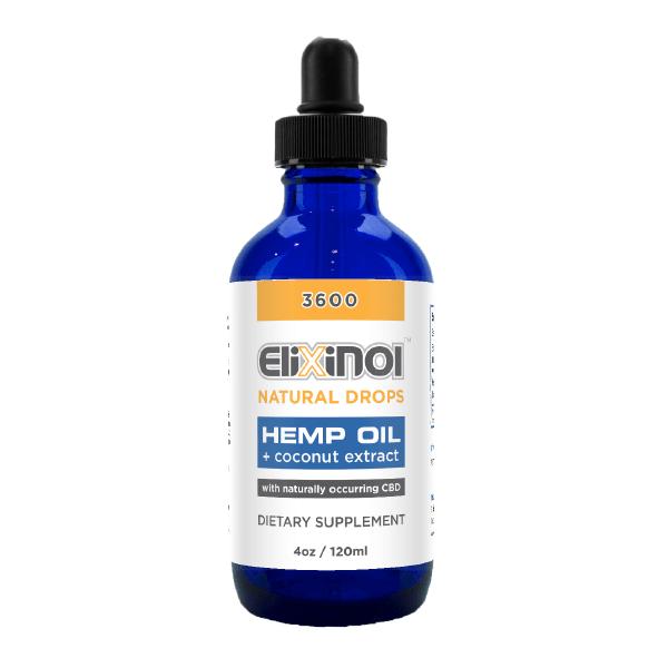 CBD Tincture – Hemp Oil Drops 3600mg CBD