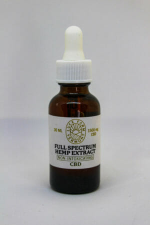 Luce Farm Vermont Full-Spectrum Hemp Extract 30ml
