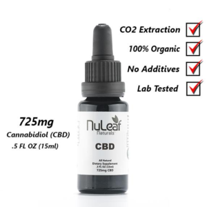 NuLeaf Natu rals725 mg Full Spectrum CBD Oil, High-Grade Hemp Extract