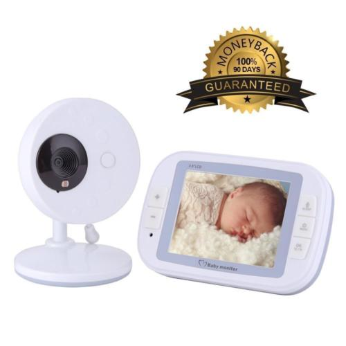 BabySense EtekStorm 3.5 inch HD Video Baby Monitor