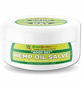 Green Garden Gold Good Day CBD Salve