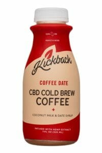 Kickback Cold Brew CBD Coffee
