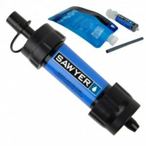 Sawyer mini water filtration system personal water filter