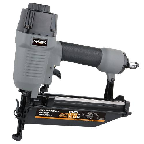 Numax pneumatic finish nailer