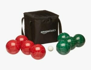 Amazon Basics Bocce set best outdoor games