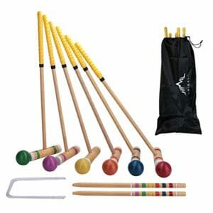 Croquet set best outdoor games