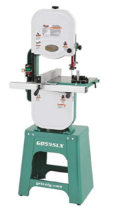 Grizzly G0555LX floor standing bandsaw