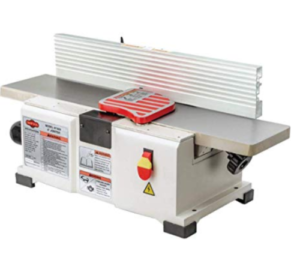 Shop Fox W1829 jointer for small shops