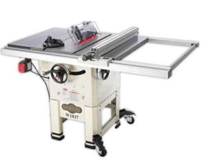 Shop Fox W1837 hybrid table saw