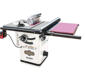 Shop Fox W1851 hybrid table saw