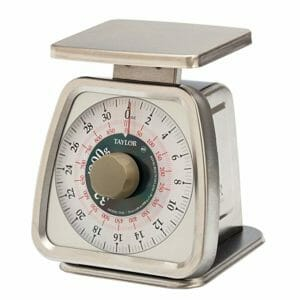 Taylor Analog Best Kitchen Scales