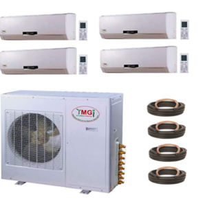 YMGI Quad Zone home air conditioning system