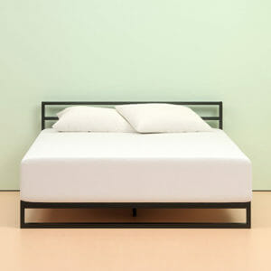 Zinus memory foam cheap online mattress