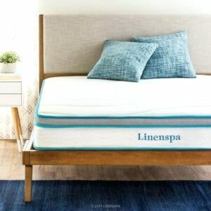 Linenspa memory foam cheap online mattress