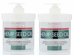 Advanced Clinicals top ten hemp lotions
