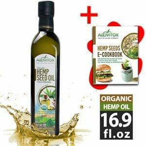 Alovitox Top Ten Best Hemp Seed Oils For Cooking