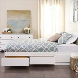 BOWERY HILL Top Ten Best Mattress Frames with Storage