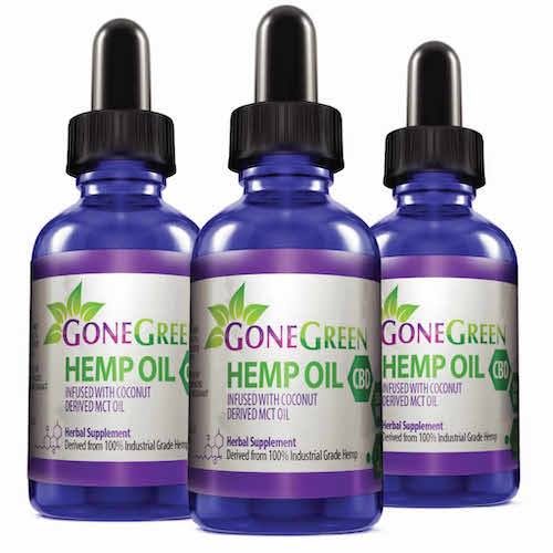Gone Green Hemp CBD Oil Extract