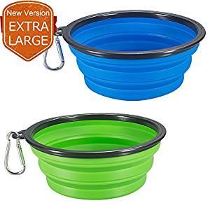 Comsun best foldable dog bowls