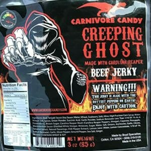 Creepy Ghost Top Ten Best Beef Jerky