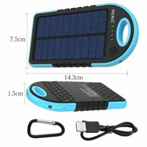 Dizaul Top Ten Best Solar Cellphone Chargers